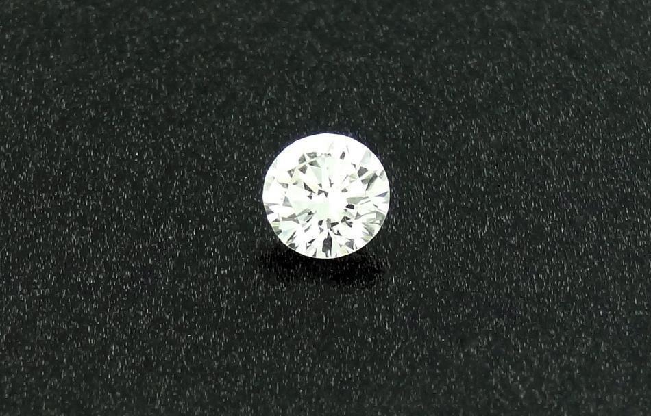 1F: GIA CERTIFIED Loose Diamond 0.49ct H VVS2 Round Bri