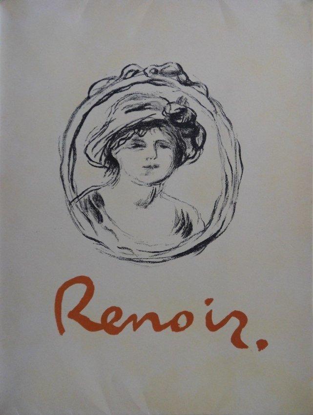 1A: RENOIR : LITHOGRAPHIE originale SIGNEE