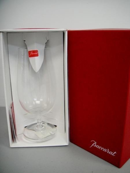 2B: Genuine Baccarat Wine Glass, Signed on the bottom