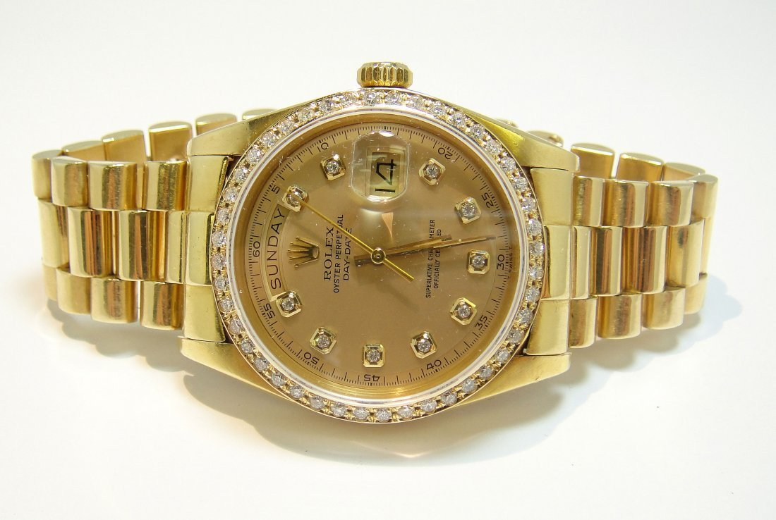 ROLEX DayDate Presidential 18KT Gold Gents Wristwatch