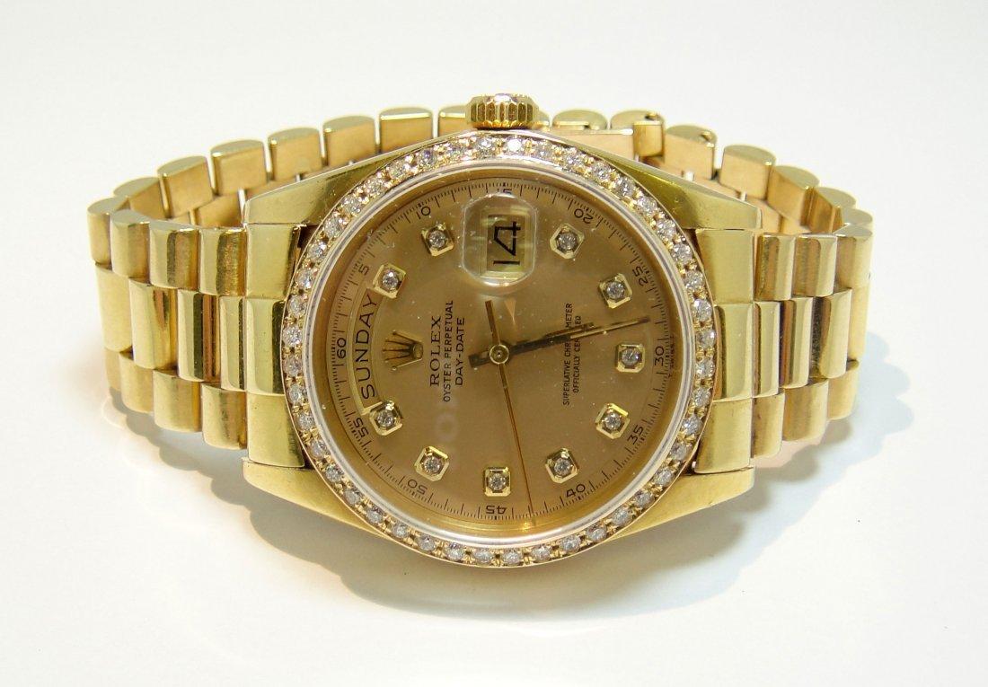 ROLEX DayDate Presidential 18KT Gold Gents Wristwatch - 2