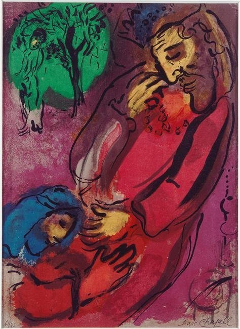 69B: Marc Chagall David and Absalom.