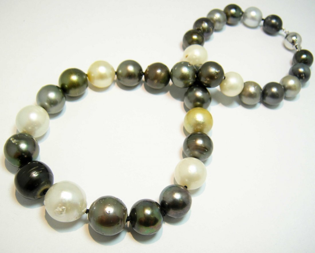 10.95 - 15.35MM South Sea Cultured Pearl Necklace