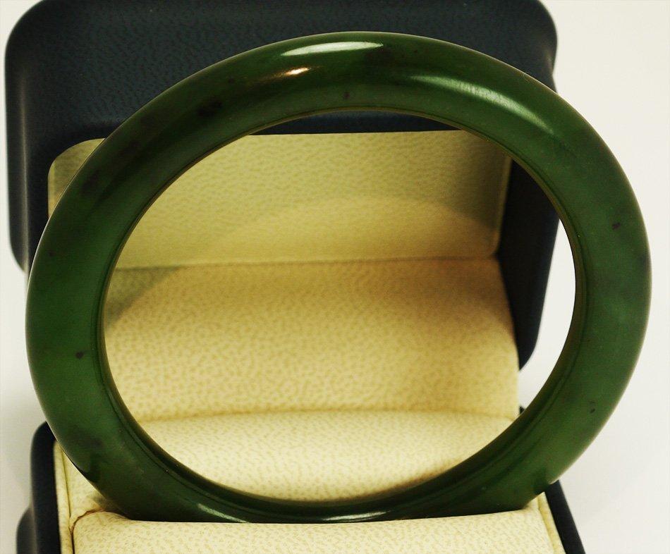 Spinach Jade Bracelet