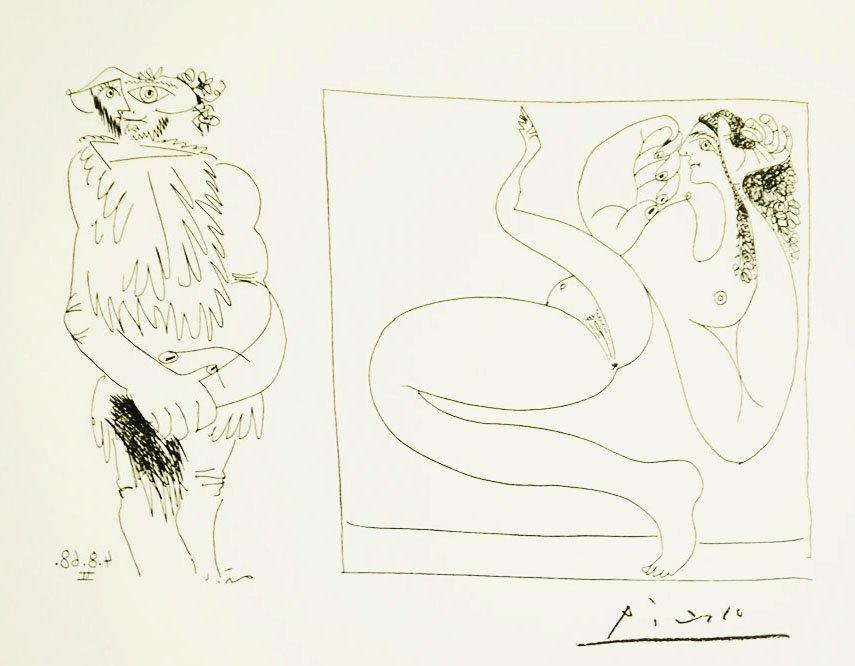 Pablo Picasso 347 Gravures Limited Edition 150 Copies