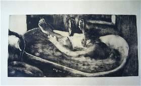 Edgar Degas Le Bain