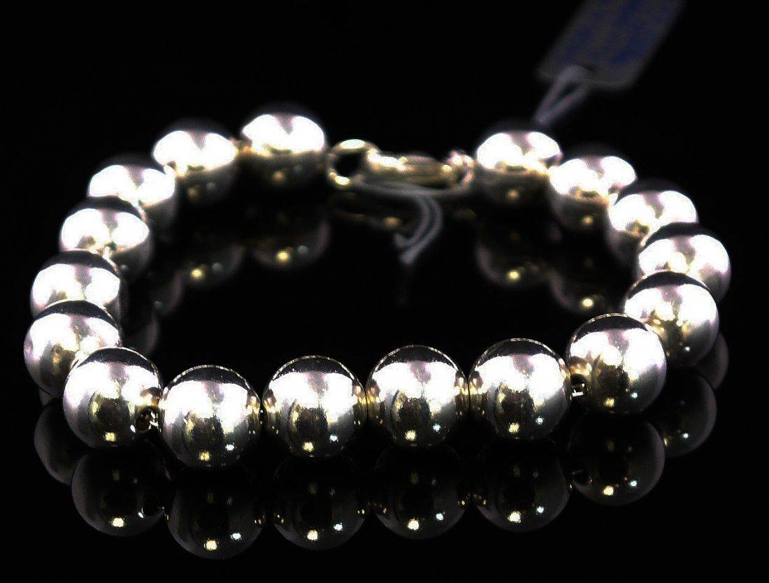 Tiffany & Co. Beads Sterling Ladies Bracelet