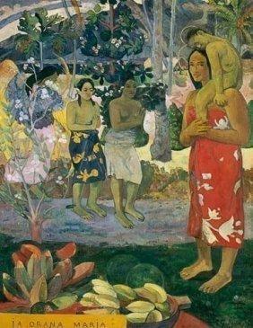 Paul Gauguin La Orana Maria Giclee