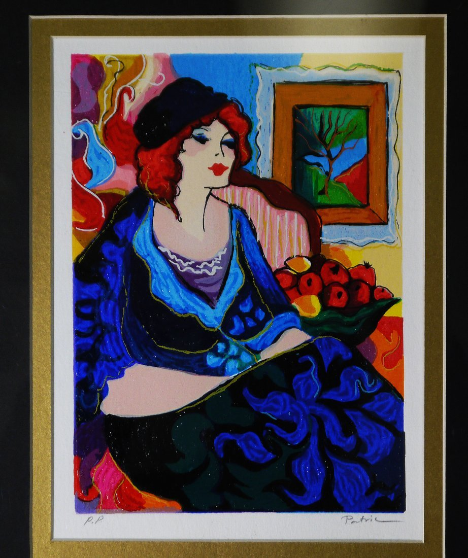 PATRICIA- ''Waiting For You Serigraph''FRAMED