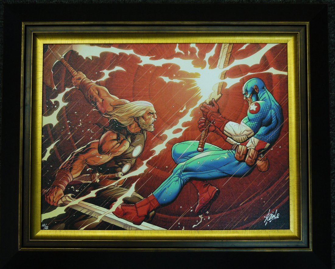 "Stan Lee ""Ultimate New Ultimates #4"" Giclee on Canvas"
