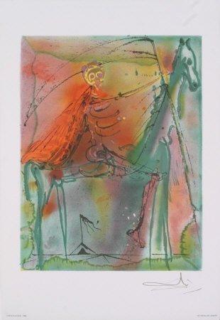 "98A: Salvador DALI : ""Le cheval de la mort"""