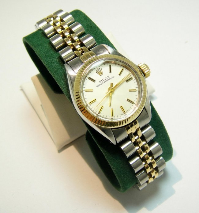 Rolex Two-Tone 18KT Oyster Perpetual Wristwatch