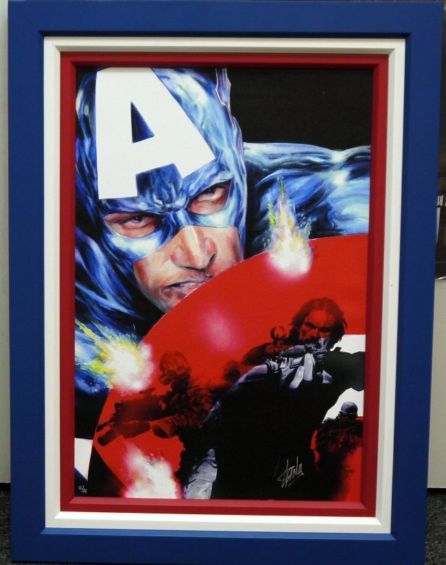 "Stan Lee "" Captain America"""