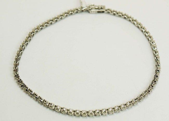 2.18ct Diamond Tennis Bracelet