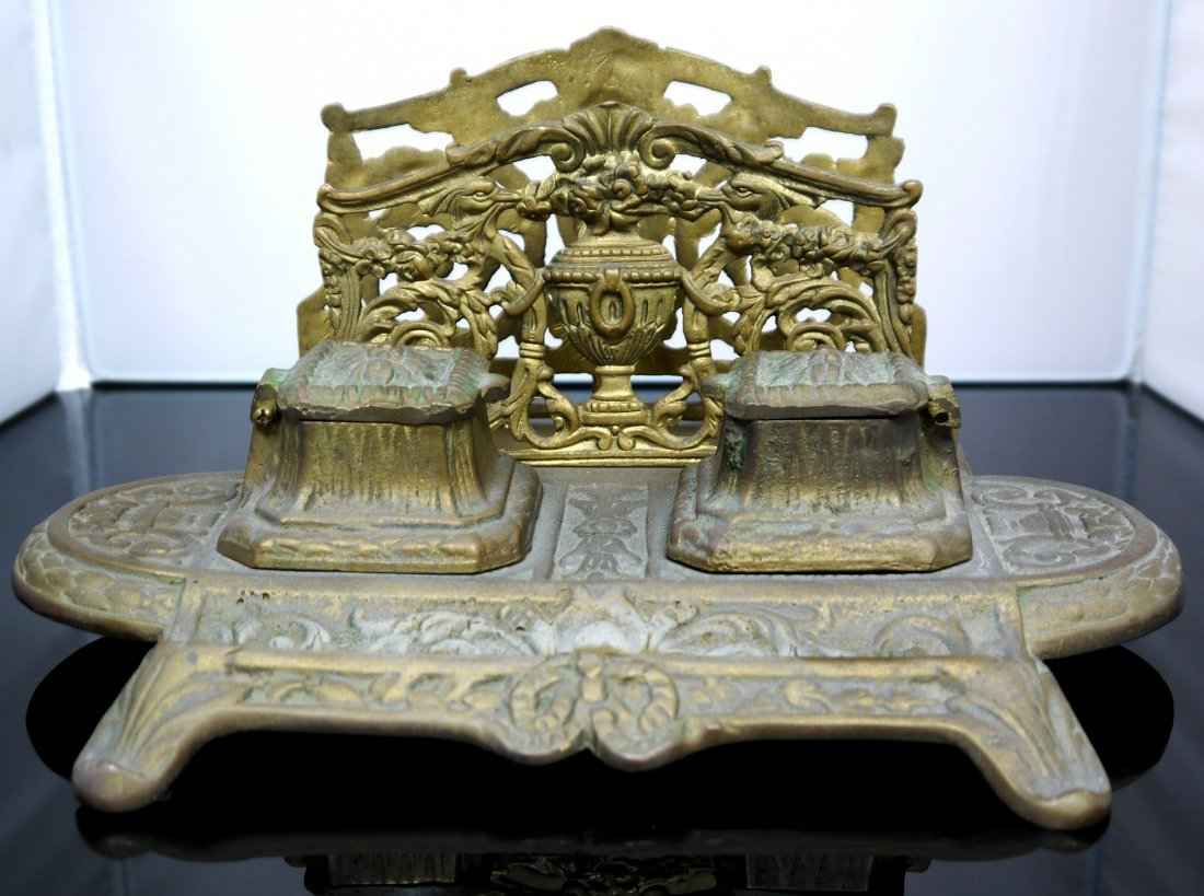 """Antique Inkwell """"Neil"""""""