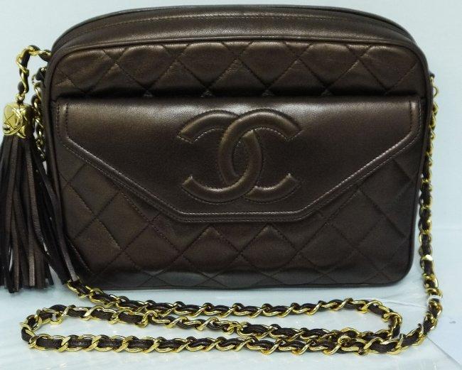 """Vintage CHANEL Shoulder Bag """"Past Perfect"""""""