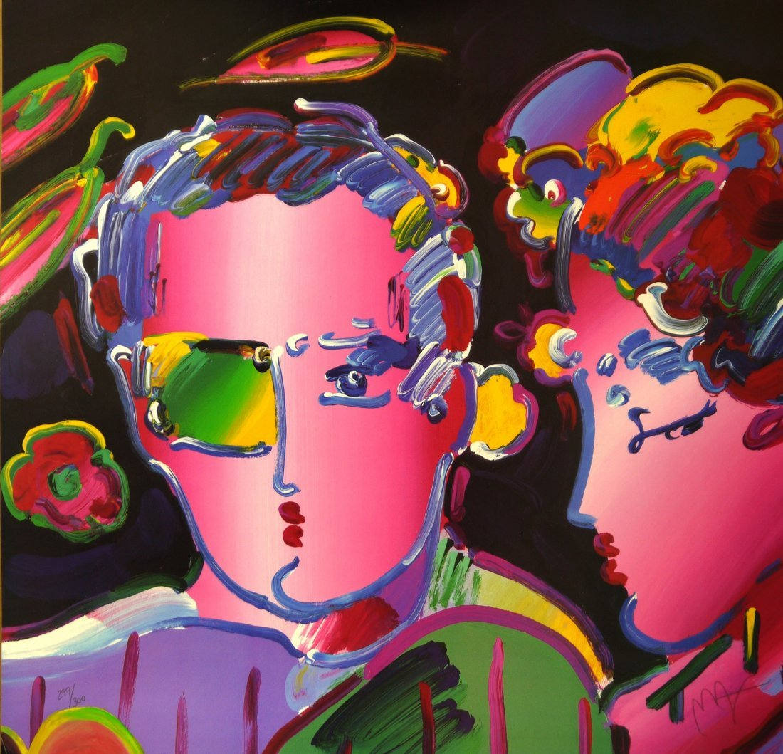 """Peter Max """"Untitled"""""""