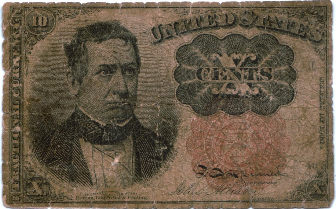 Post Civil War Currency 1864