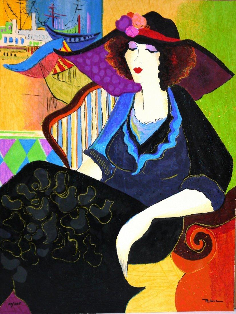 "Patricia Govezensky ""Marina Tel-Aviv"" SilkScreen"