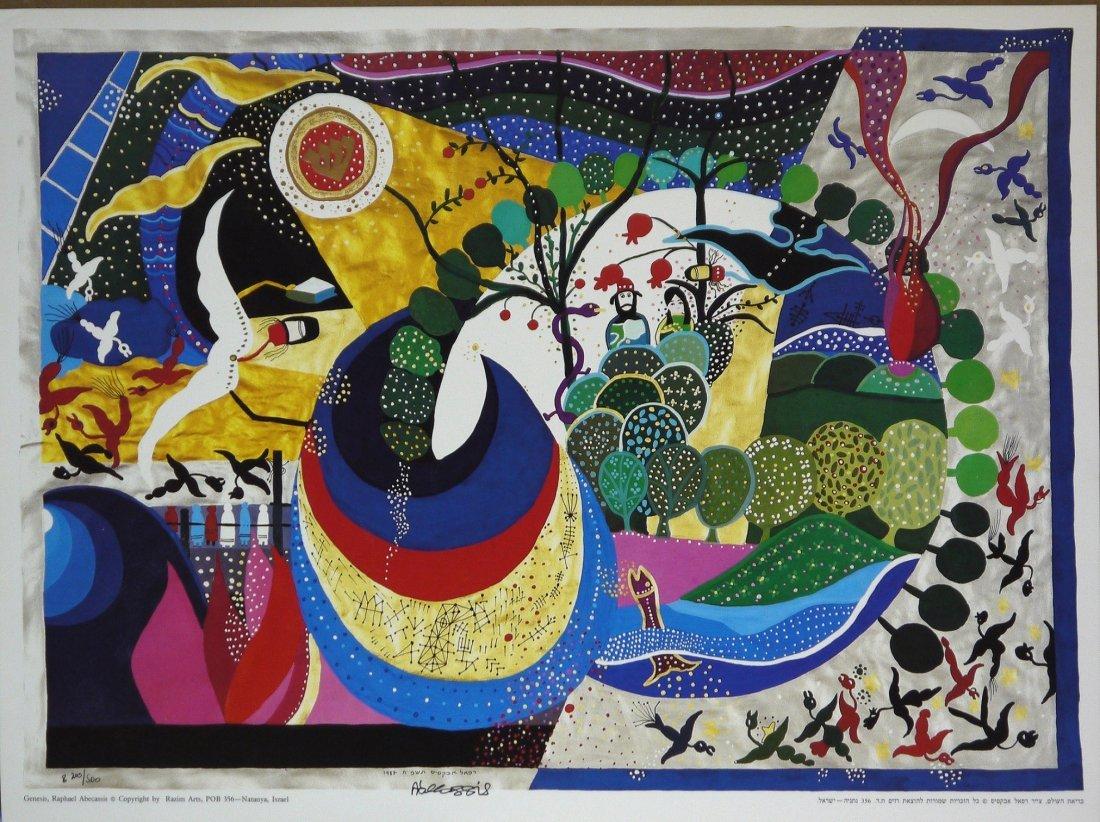 "Raphael Abecassis ""Genesis"" LE Offset Lithograph"