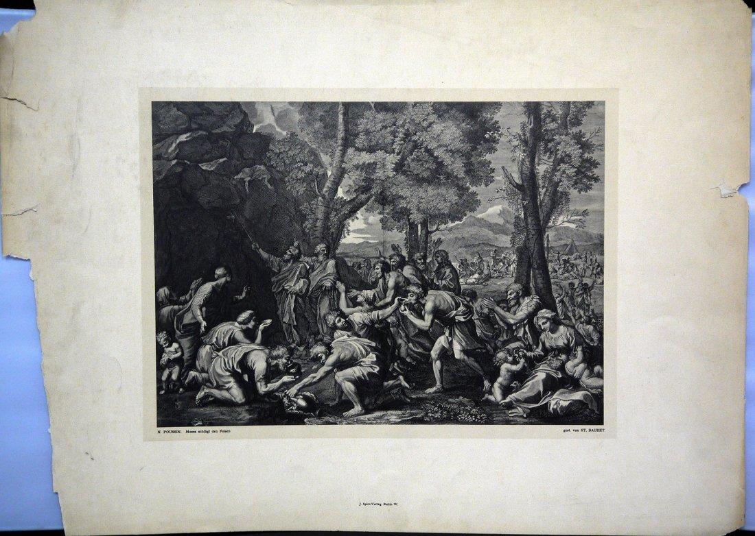 """N.Poussin """"Moses schlagt den Felsen"""""""