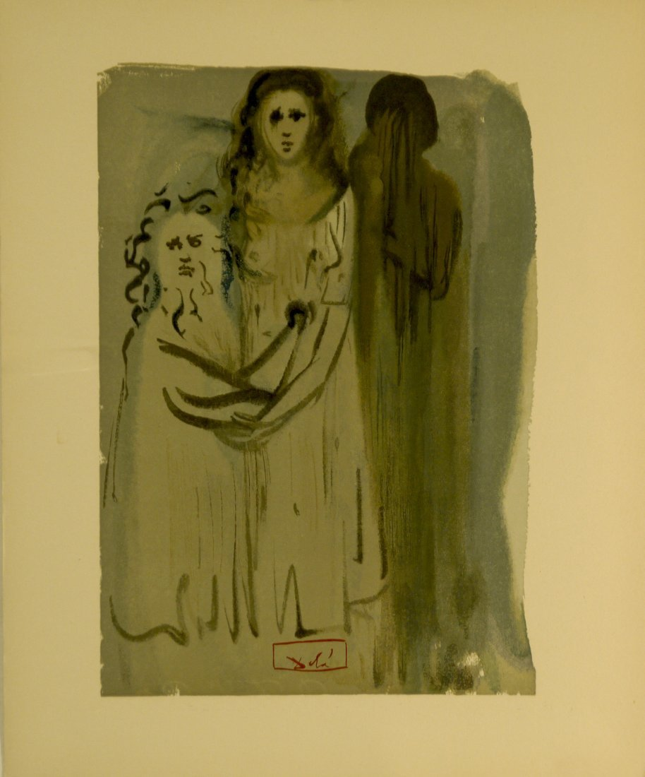 """Salvador Dali """"Divine Comedy"""" (Unframed)"""