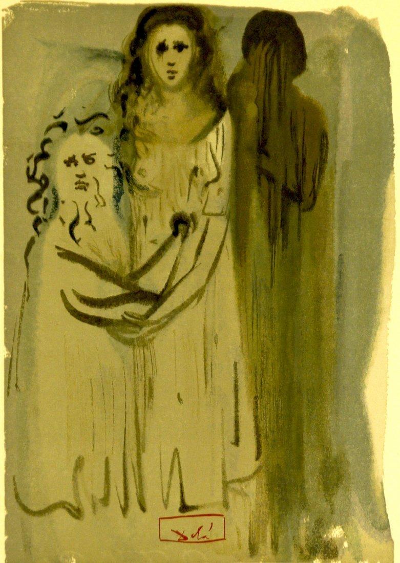 """Salvador Dali """"Divine Comedy"""" (Unframed) - 2"""