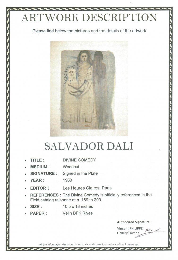 """Salvador Dali """"Divine Comedy"""" (Unframed) - 3"""