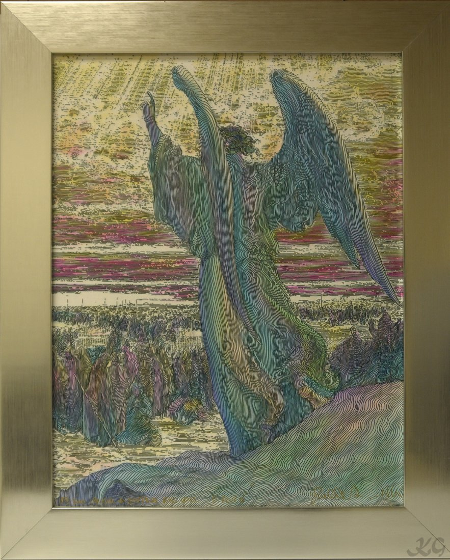"Guillaume Azoulay ""Angel & Joshua"" LE Giclee"