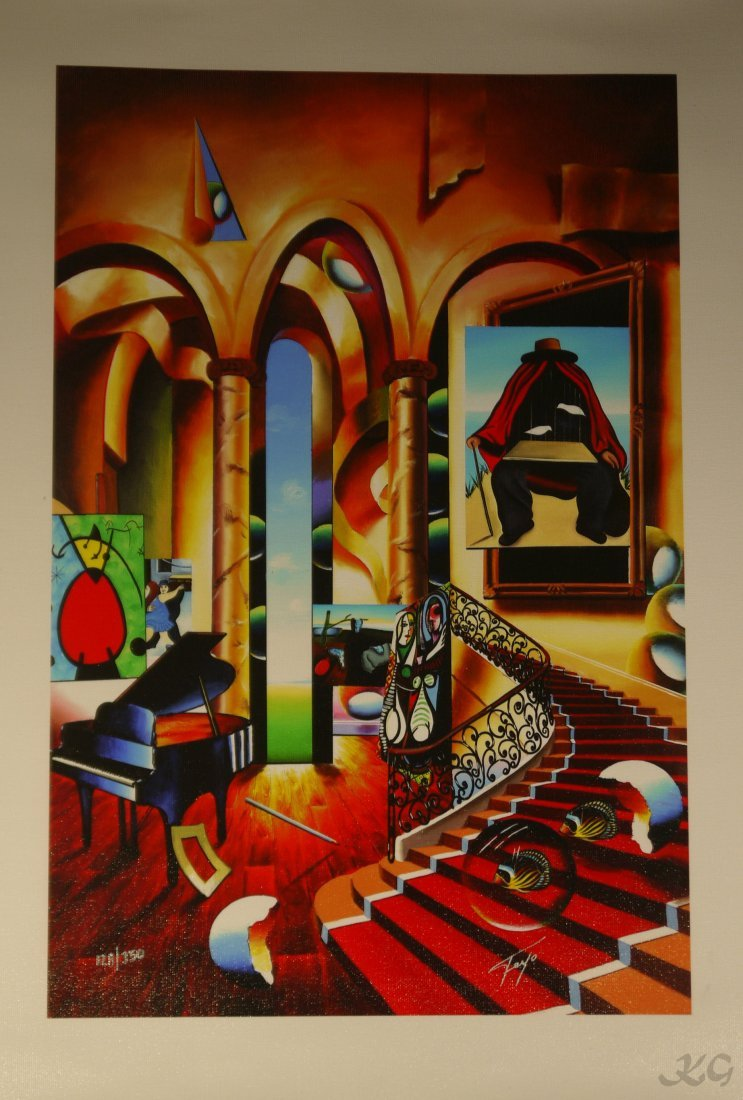 """Ferjo """"Conclave of the Masters"""" Giclee"""