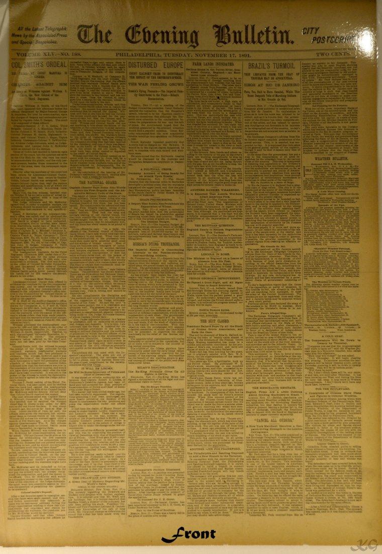 1891 City Postscript