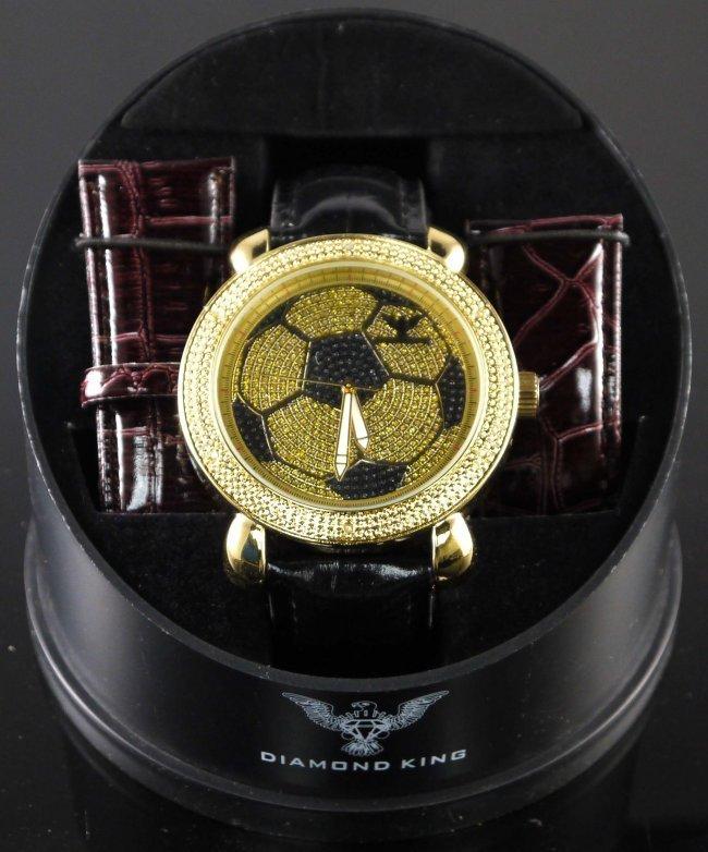 Diamond King Men Large Wristwatch