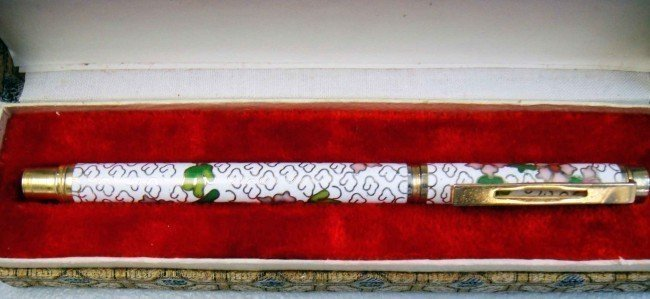Vintage Chinese Hand Made Decoration Pen