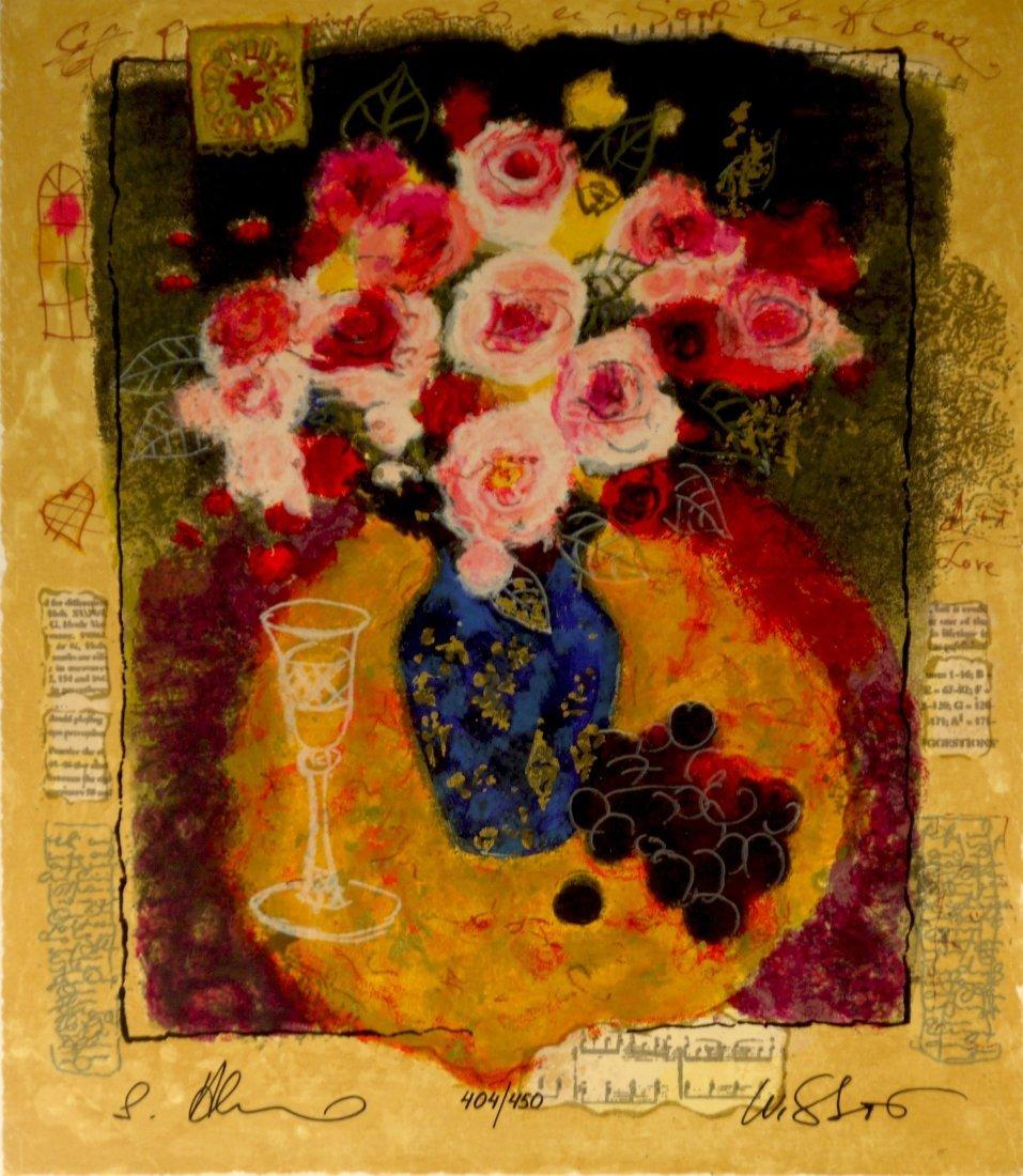 """G. Alexander & T. Wissotzky """"Evening Bouquet"""""""