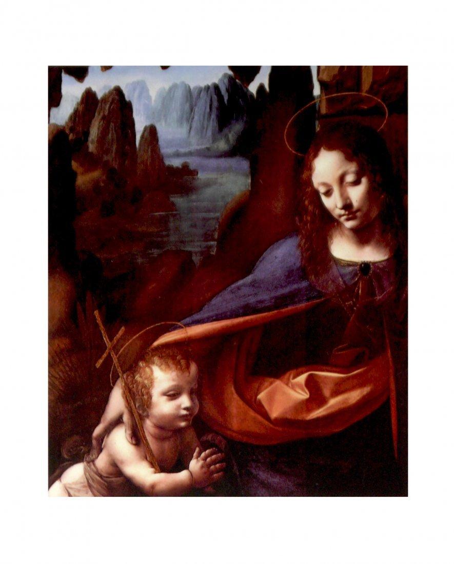 """Leonardo Da Vinci """"Marie and Christ"""""""