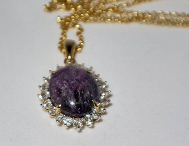 24.66 ctw Ruby & Sapphire Silver Necklace