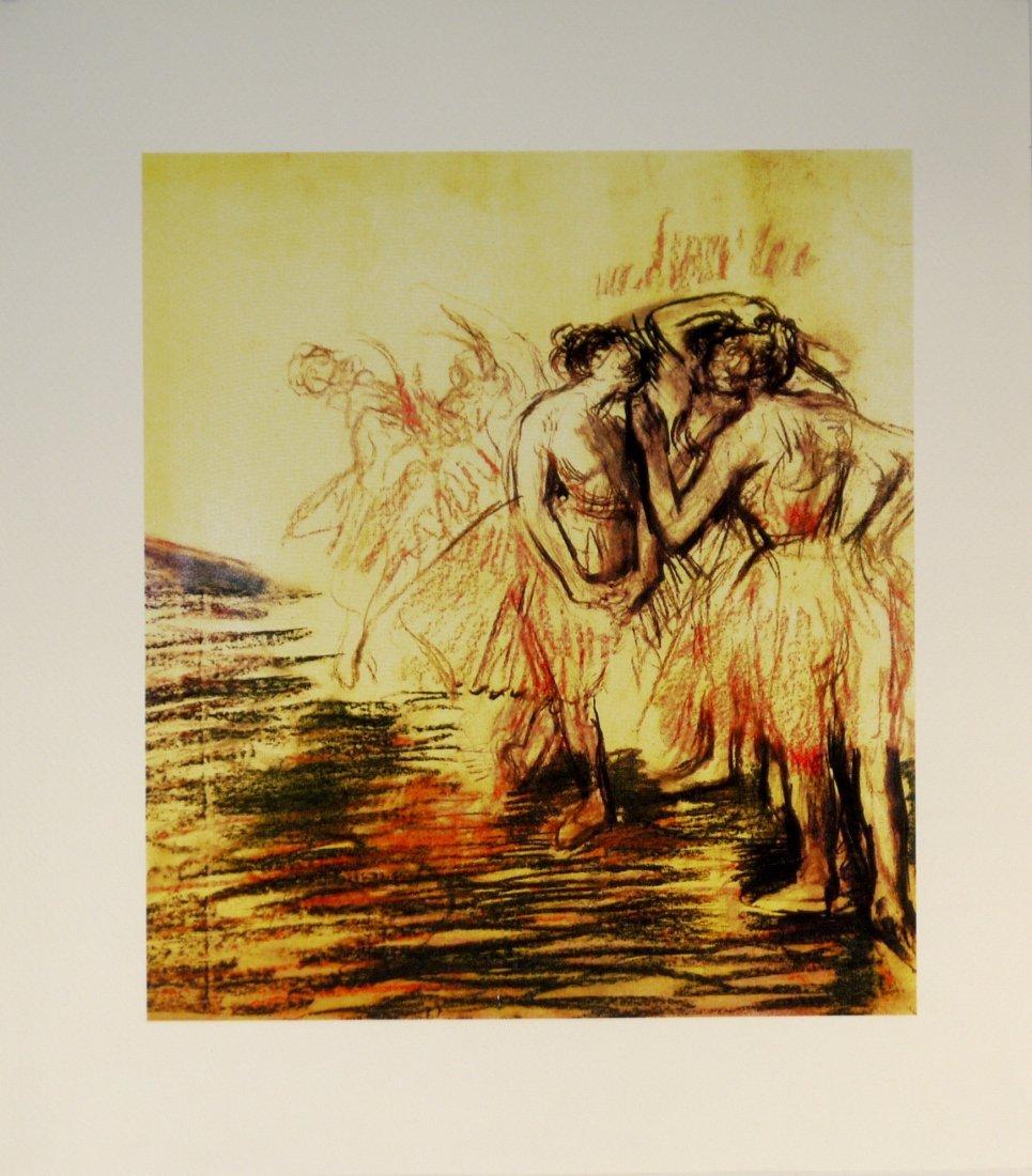 """Edgar Degas """"Dancers in Stage"""""""