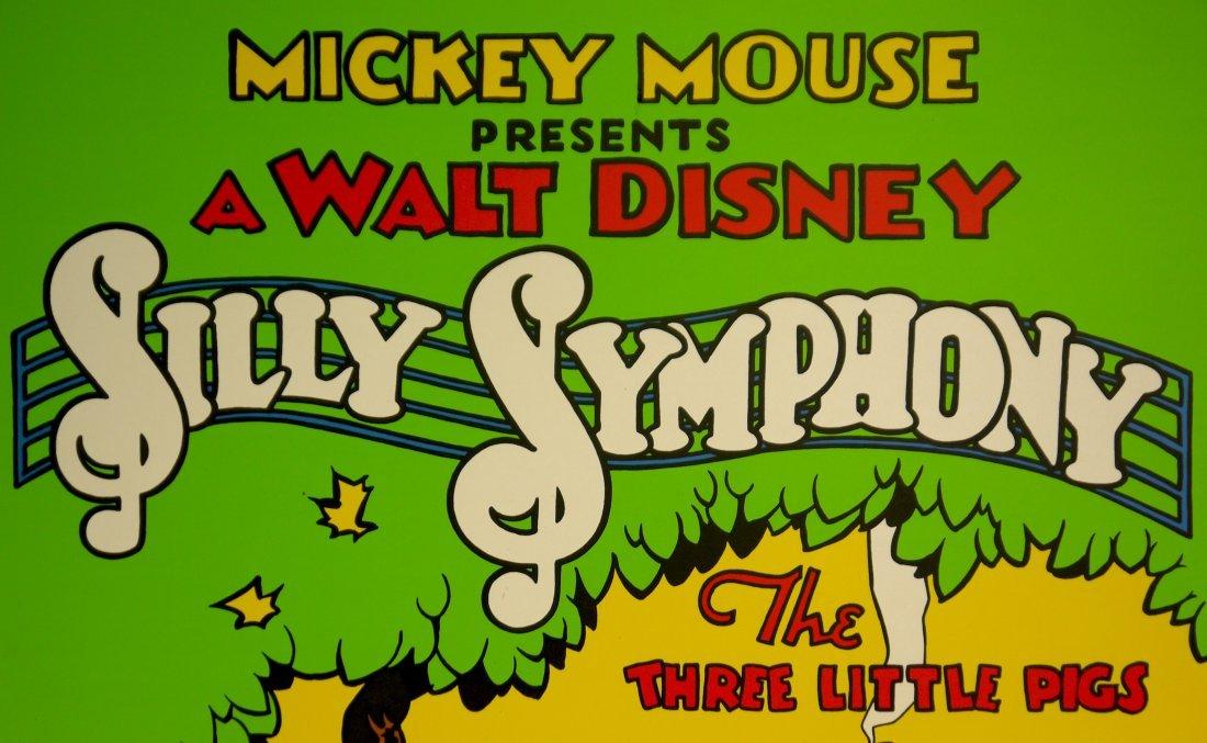 """Walt Disney """"Silly Symphony"""" (UNFRAMED) W78 - 3"""