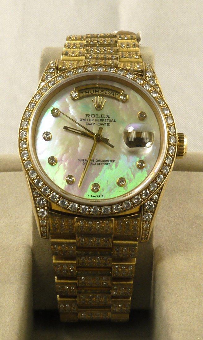 ROLEX Super President Style DayDate Wristwatch W40286