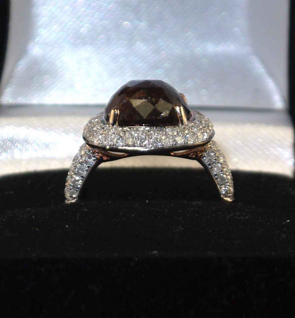 14kt Rose Gold 5.61ctw Diamond Ring K36J96