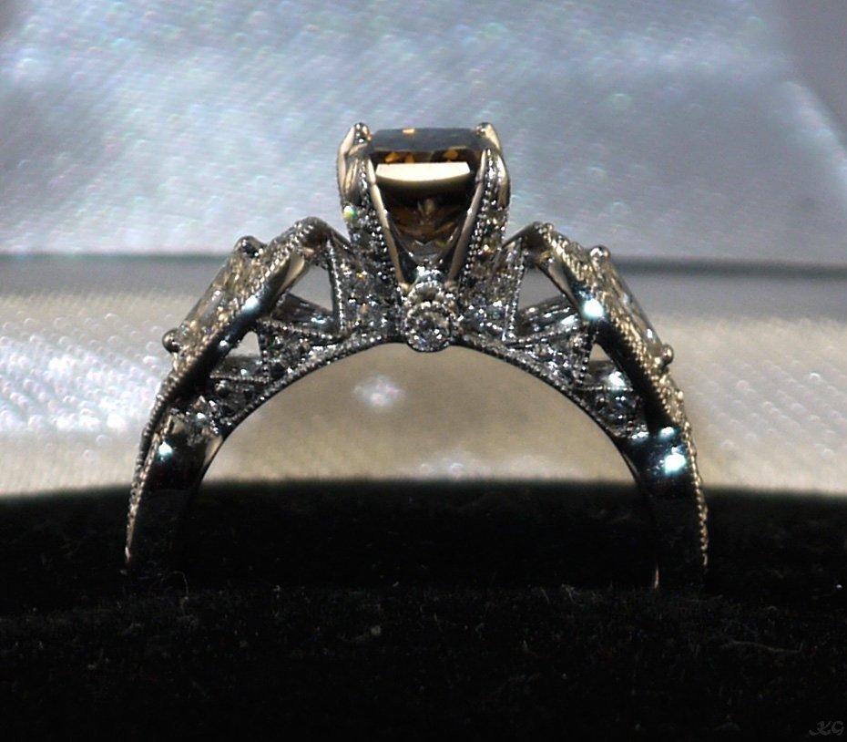 18kt White Gold 1.42ctw Diamond Ring K39J95