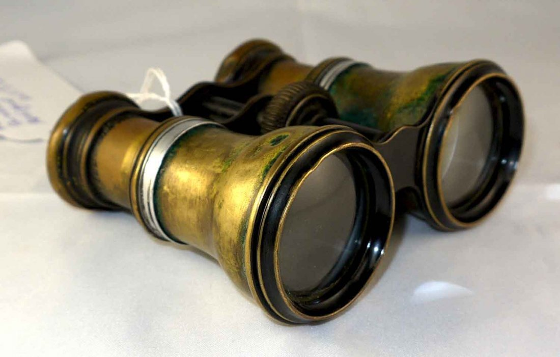Antique American Binoculars W150