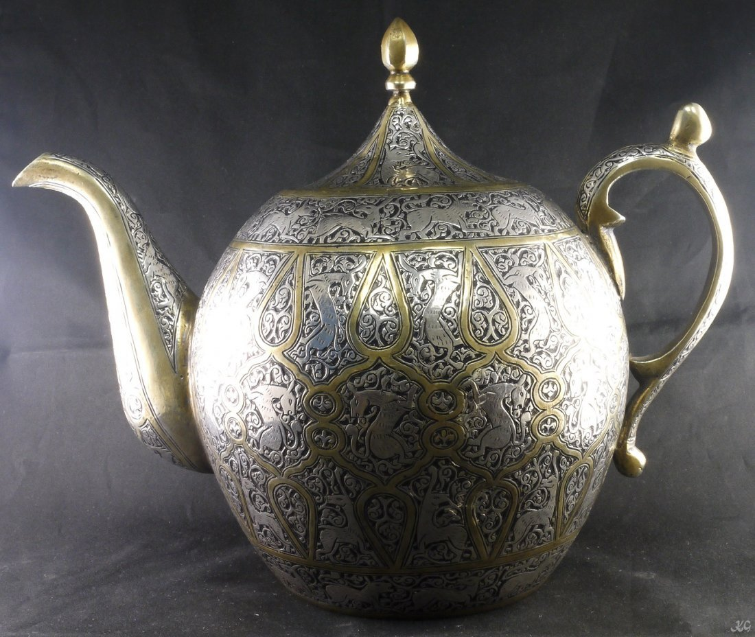 Antique Silver Tea Pot W7501