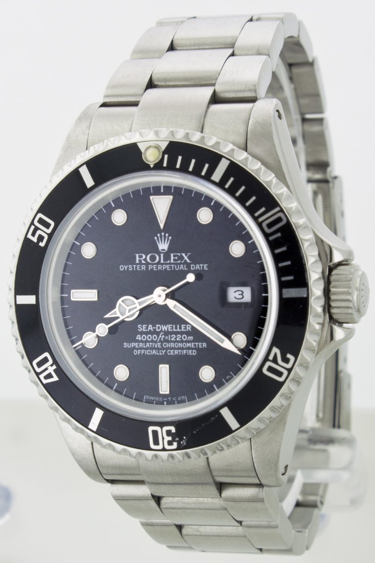 ROLEX STAINLESS STEEL SEA-DWELLER WA18303