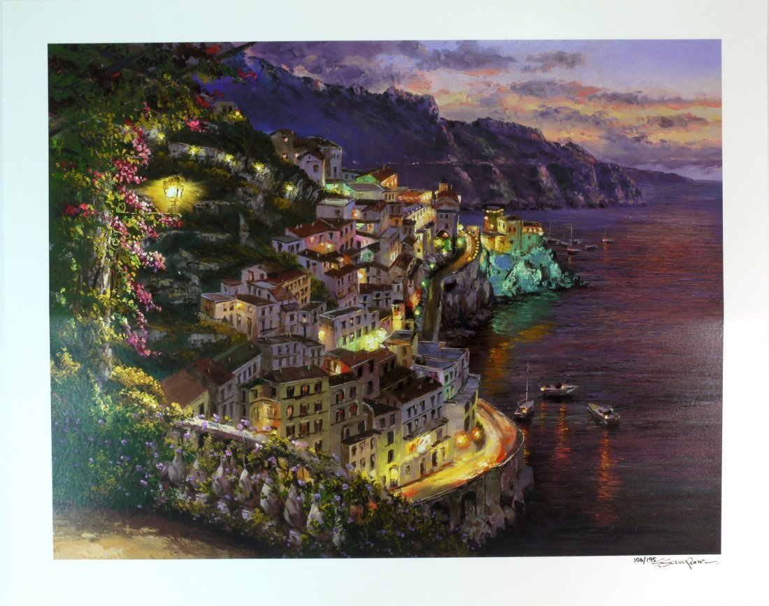 "Sam Park ""Lights of Amalfi"" W255"