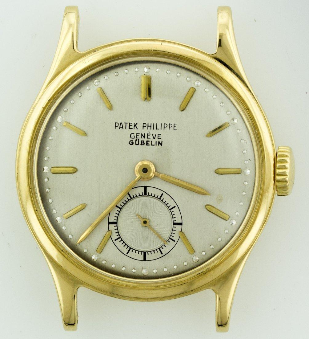 Patek 18K Yellow Gold Vintage Gubelin
