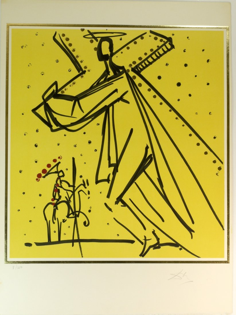 "Salvador Dali ""The Twelve Apostles 8/350"" W1952"