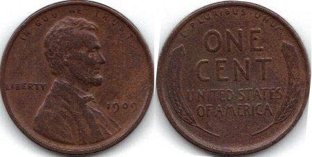 1909 Lincoln 1 Cent W30