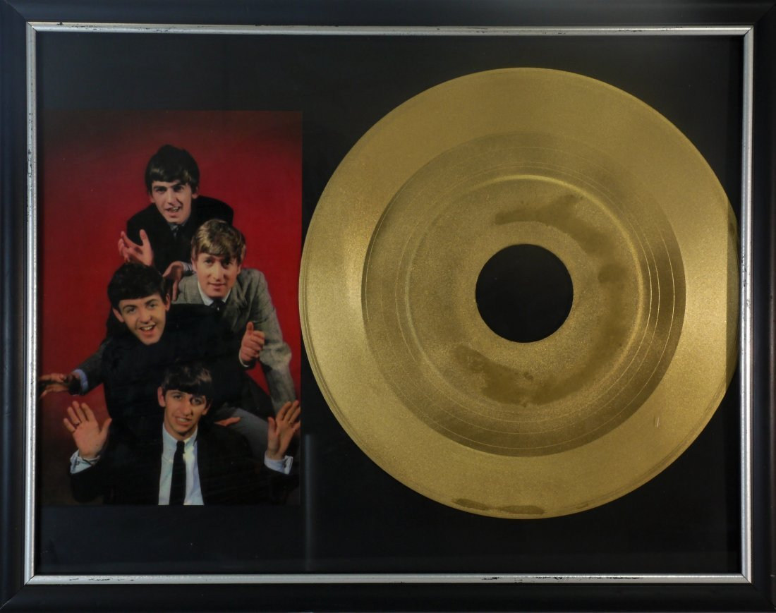 Beatles Gold Record W52