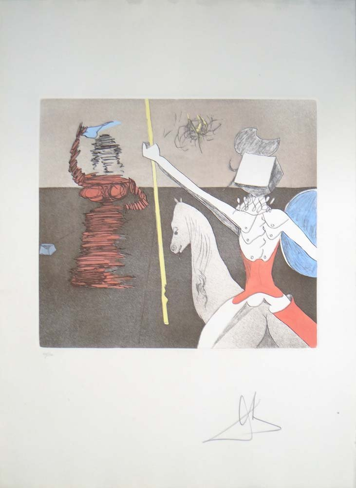 "Salvador Dali ""Off to Battle"" W3303"
